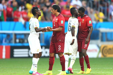 Acquah Afriyie Portugal v Ghana: Group G