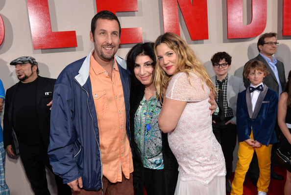 adam sandler and drew barrymore relationship with parents