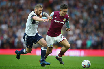 Adam Clayton Aston Villa Vs. Middlesbrough - Sky Bet Championship Play Off Semi Final:Second Leg