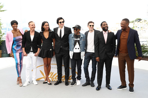Spike Lee, John David Washington, Topher Grace, Damaris Lewis ...