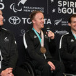 Adam Hall New Zealand Paralympic Winter Games Team Welcome Home Reception