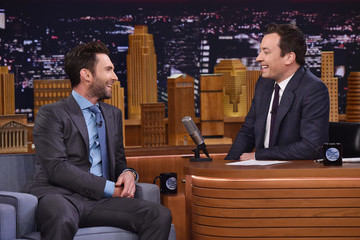 Adam Levine Adam Levine Visits 'The Tonight Show Starring Jimmy Fallon'