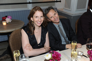 Adam Moss Pam Wasserstein The Cut and New York Magazine's Dinner For Cathy Horyn
