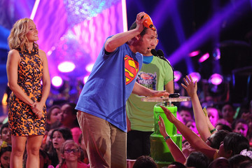 Adam Sandler Nickelodeon's 27th Annual Kids' Choice Awards - Show