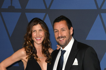 Adam Sandler Jackie Sandler Academy Of Motion Picture Arts And Sciences' 11th Annual Governors Awards - Arrivals