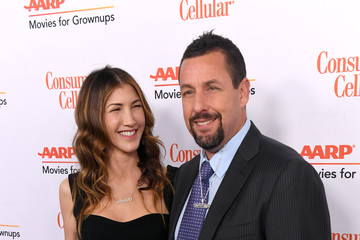 Adam Sandler Jackie Sandler AARP The Magazine's 19th Annual Movies For Grownups Awards - Arrivals