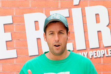 Adam Sandler Adam Sandler And Leslie Mann Attend Funny People Madrid Photocall