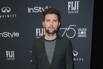 Adam Scott Hollywood Foreign Press Association and InStyle Celebrate the 75th Anniversary of the Golden Globe Awards - Arrivals