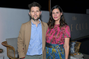 Adam Scott Launch Of The Jane Club In Larchmont Village