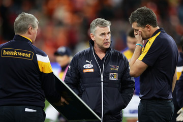 Adam Simpson AFL Rd 22 - GWS v West Coast