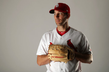 Adam Wainwright St Louis Cardinals Photo Day
