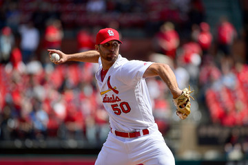 Adam Wainwright Milwaukee Brewers vs. St Louis Cardinals