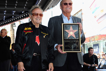 George Barris Adam West Honored On The Hollywood Walk Of Fame