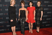 (L-R) Judy Woodruff, Susan Lucci, Tamsen Fadal, and Cara Buono attend the Adapt Leadership Awards Gala 2018 at Cipriani 42nd Street on March 8, 2018 in New York City.