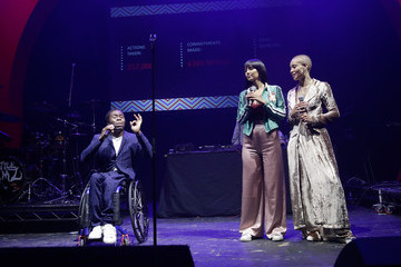 Ade Adepitan Global Citizen Live London - Show
