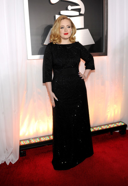 Adele - The 54th Annual GRAMMY Awards - Red Carpet
