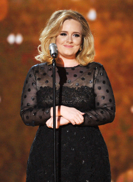 Adele - The 54th Annual GRAMMY Awards - Show