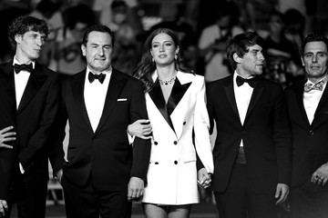 """Adele Exarchopoulos Cedric Jimenez """"Bac Nord"""" Red Carpet - The 74th Annual Cannes Film Festival"""