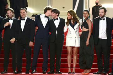 """Adele Exarchopoulos Kenza Fortas """"Bac Nord"""" Red Carpet - The 74th Annual Cannes Film Festival"""