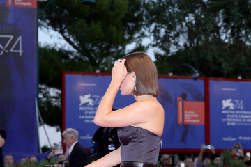 Adele Exarchopoulos Racer And The Jailbird (Le Fidele) Photocall - 74th Venice Film Festival