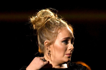 Adele The 59th GRAMMY Awards - Show