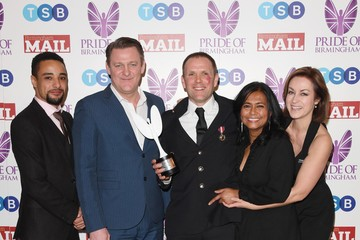 Adil Ray Pride Of Birmingham Awards 2018 - Winner's Room