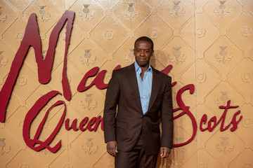Adrian Lester 'Mary Queen Of Scots' European Premiere - Red Carpet Arrivals