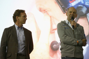 Adrian Newe Red Bull Racing - Press Conference