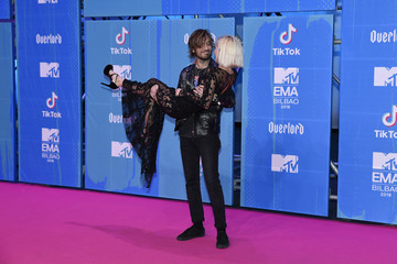 Adrian Roma MTV EMAs 2018 - Red Carpet Arrivals