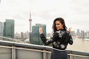 Adriana Lima Arrives in Shanghai for the Victoria's Secret Fashion Show
