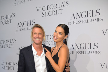 "Adriana Lima Victoria's Secret Hosts Russell James' ""Angel"" Book Launch"