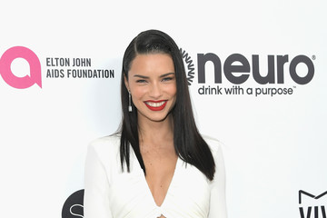 Adriana Lima 25th Annual Elton John AIDS Foundation's Oscar Viewing Party With Cocktails by Clase Azul Tequila and Chopin Vodka