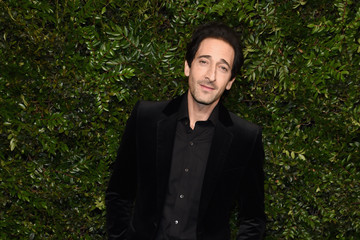 Adrien Brody Charles Finch And Chanel Pre-Oscar Awards Dinner At Madeo In Beverly Hills