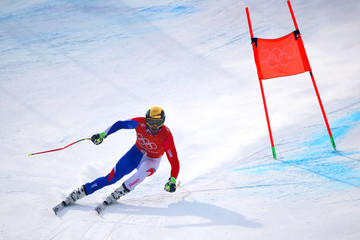 Adrien Theaux Alpine Skiing - Winter Olympics Day 1