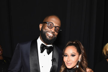 Adrienne Bailon Rickey Smiley 2019 Super Bowl Gospel Celebration - Backstage