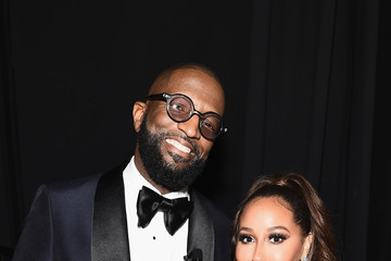 Adrienne Bailon Rickey Smiley Social Ready Content: Super Bowl LIII Parties And Entertainment