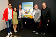 Eric Andre, Abbi Jacobson, Nat Faxon, Matt Groening and Andy Richter speak onstage at the Netflix Adult Animation Q&A and Reception on April 20, 2019 in Hollywood, California.
