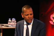 Dominic Carter, Chief Commercial Officer News UK  during Yannick Bollore Live part of Advertising Week Europe 2016 day 2 at Picturehouse Central on April 19, 2016 in London, England.