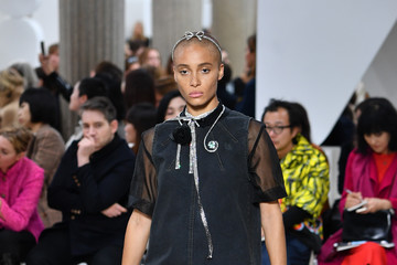 Adwoa Aboah Miu Miu: Runway - Paris Fashion Week Womenswear Spring/Summer 2019
