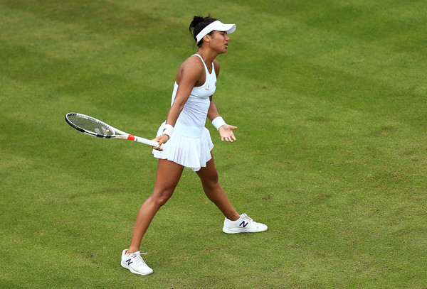 Heather Watson stuns defending champion in Eastbourne
