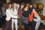 (L-R)  Cleo Wade, Iskra Lawrence, Brenna Huckaby, Aly Raisman, Jameela Jamil, and Molly Burke attend as Aerie celebrates #AerieREAL Role Models in NYC on January 31, 2019 in New York City.