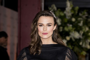 "Keira Knightley attends ""The Aftermath"" World Premiere held at The Picturehouse Central on February 18, 2019 in London, England."