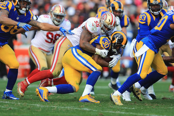 Ahmad Brooks San Francisco 49ers v Los Angeles Rams