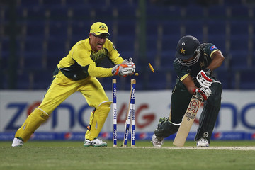 Ahmed Shahzad Pakistan v Australia - ODI International