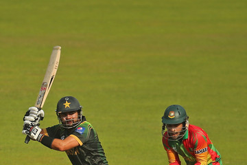 Ahmed Shehzad Pakistan v Bangladesh - ICC World Twenty20 Bangladesh 2014