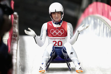 Aileen Christina Frisch Luge - Winter Olympics Day 4