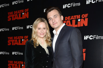 Aimee Mullins Premiere Of IFC Films' 'The Death Of Stalin' - Arrivals