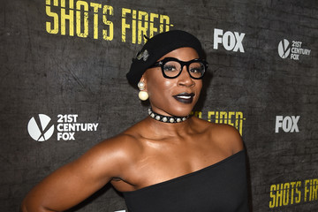 Aisha Hinds Screening And Discussion Of FOX's 'Shots Fired' - Red Carpet