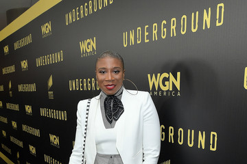 Aisha Hinds WGN America's Presents 'Underground' Awardsline Screening Series