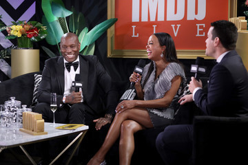 Aisha Tyler IMDb LIVE Presented By M&M'S At The Elton John AIDS Foundation Academy Awards Viewing Party